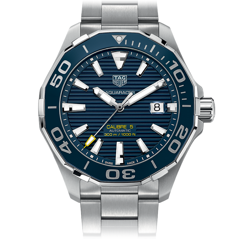 New Men's TAG Heuer Aquaracer 300 M Blue Dials Replica Watches