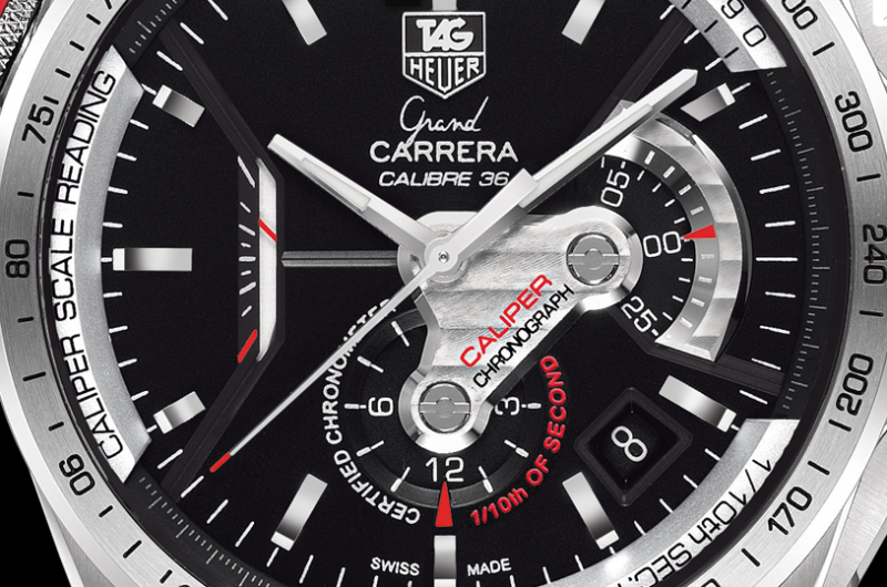 a43fa258311 Can Swiss Functional Black Dials TAG Heuer Grand Carrera Calibre 36 RS Copy  Watches Fit Your Wrists