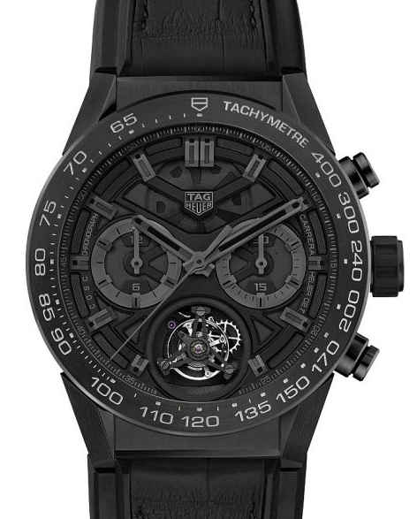 TAG Heuer Carrera Heuer-02T Black Dials Replica Watches