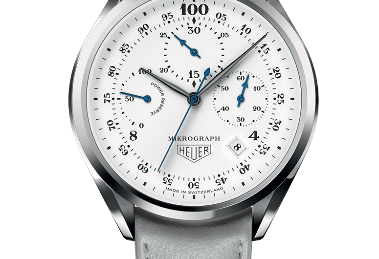Hot Sale White Dials TAG Heuer 100 Years Of 1916 Mikrograph Numbered Special Edition Copy Watches
