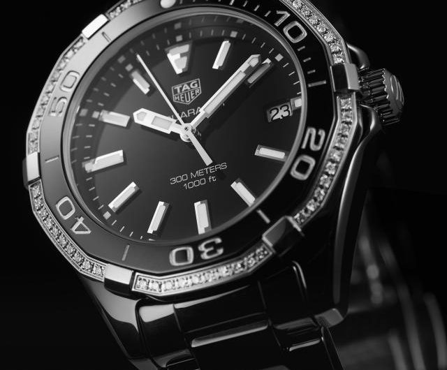 2d99669d1e0 Delicate And Charming UK TAG Heuer Aquaracer WAY1395.BH0716 Replica Watches  Only For Ladies