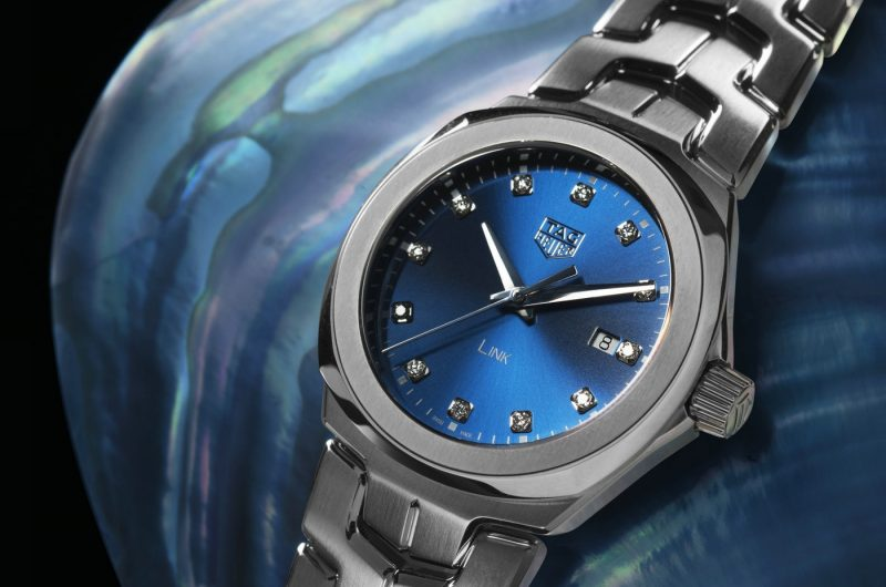 2017 New Tag Heuer Link Replica Watches With Blue Dials For