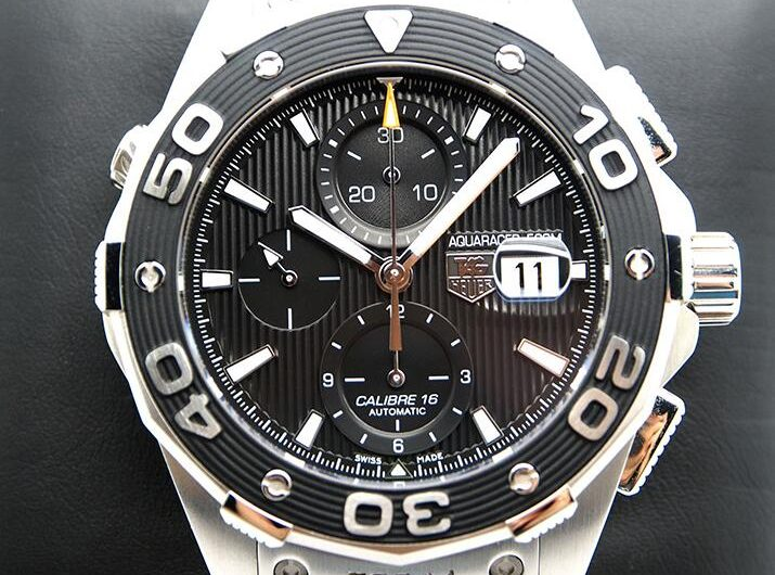 d29b96e9b214 Sporty Cristiano Ronaldo Selected 42MM Tag Heuer Aquaracer Calibre 16  Chronograph Replica Watches Sales