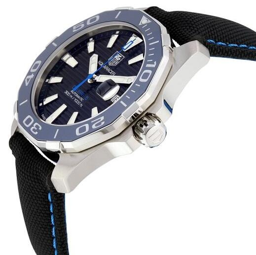 6349a23c769ee Two Elegant TAG Heuer Aquaracer Fake Swiss Watches Highlight Energy