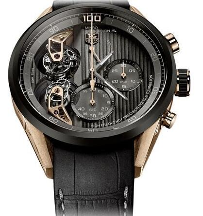 High-end TAG Heuer Carrera Mikro TourbillonS duplication watches choose self-winding movements.
