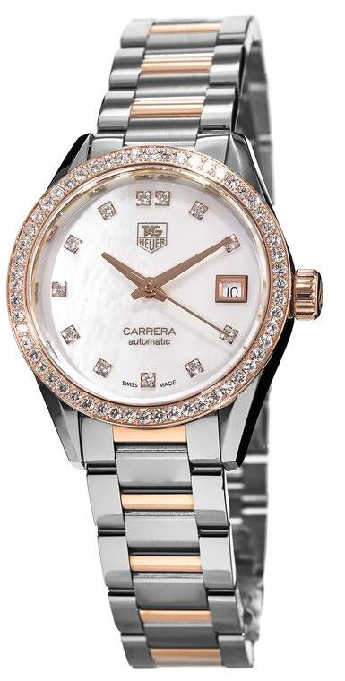 TAG Heuer knock-off watches adopt diamonds for women.