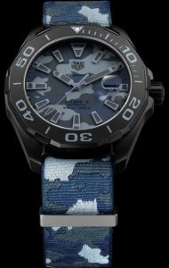 Trendy TAG Heuer fake watches adopt camouflage patterns.