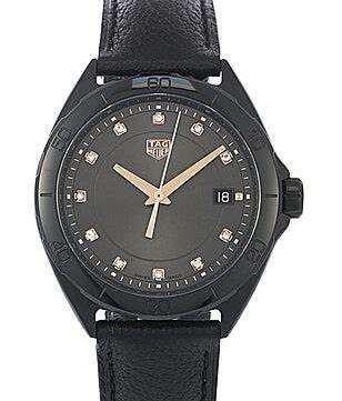 a1284950c86 Charming Tag Heuer Fake Watches Highlight Deep Glamour