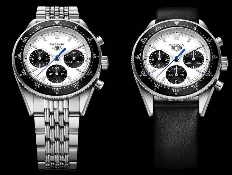 Online imitation watch for best sale is clear with the reflection of black and white colors.