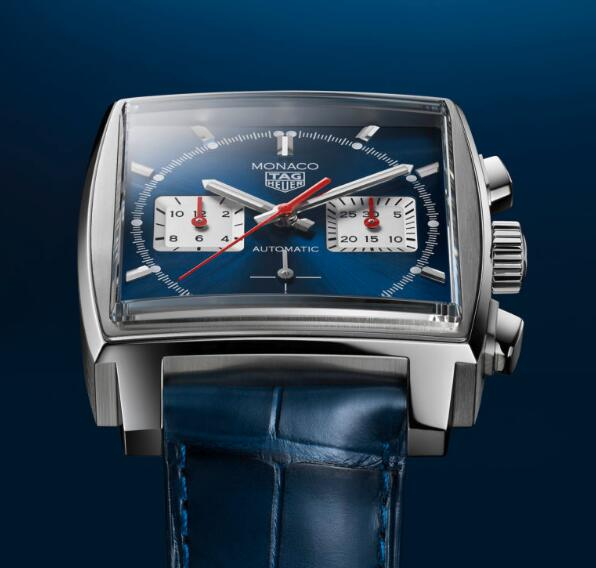 Swiss reproduction watches online are stunning with blue color.