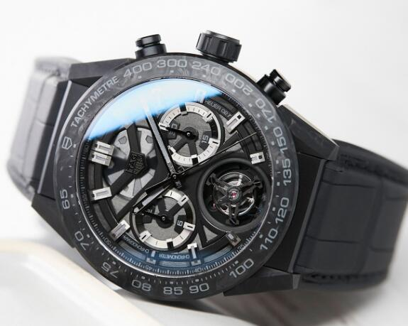 The TAG Heuer with tourbillon is complicated but cheap.