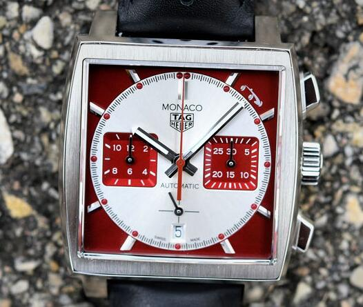 The square case TAG Heuer Monaco is impressive and eye-catching.
